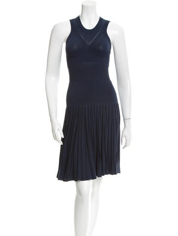 Ohne Titel Sleeveless Rib Knit Dress None