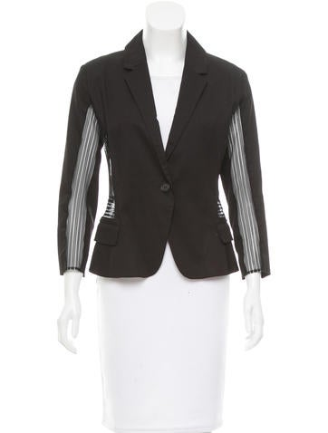 Ohne Titel Embroidered Fitted Blazer