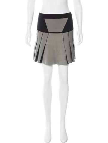 Ohne Titel Knit Mini Skirt None