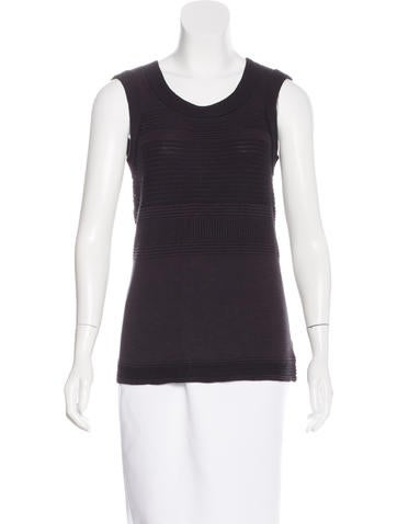 Ohne Titel Wool Sleeveless Top None