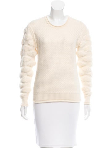Ohne Titel Wool Patterned Sweater None