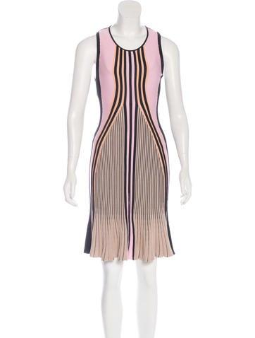 Ohne Titel Colorblock Knit Dress None