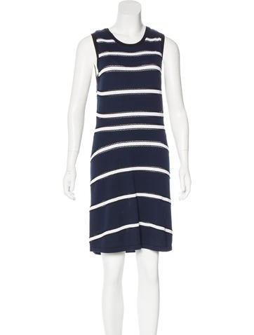 Ohne Titel Striped Knit Dress None