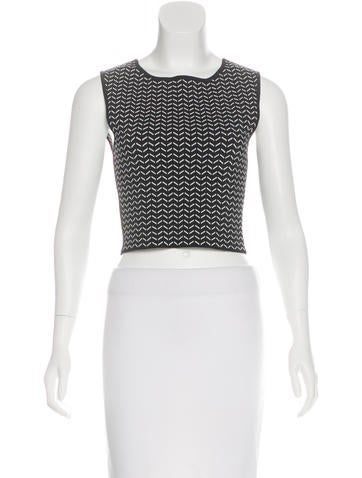 Ohne Titel Sleeveless Crop Top None
