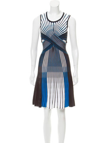 Ohne Titel Sleeveless A-Line Dress None