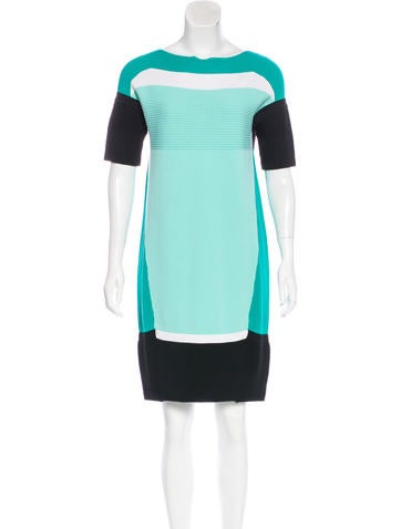 Ohne Titel Colorblock Shift Dress None