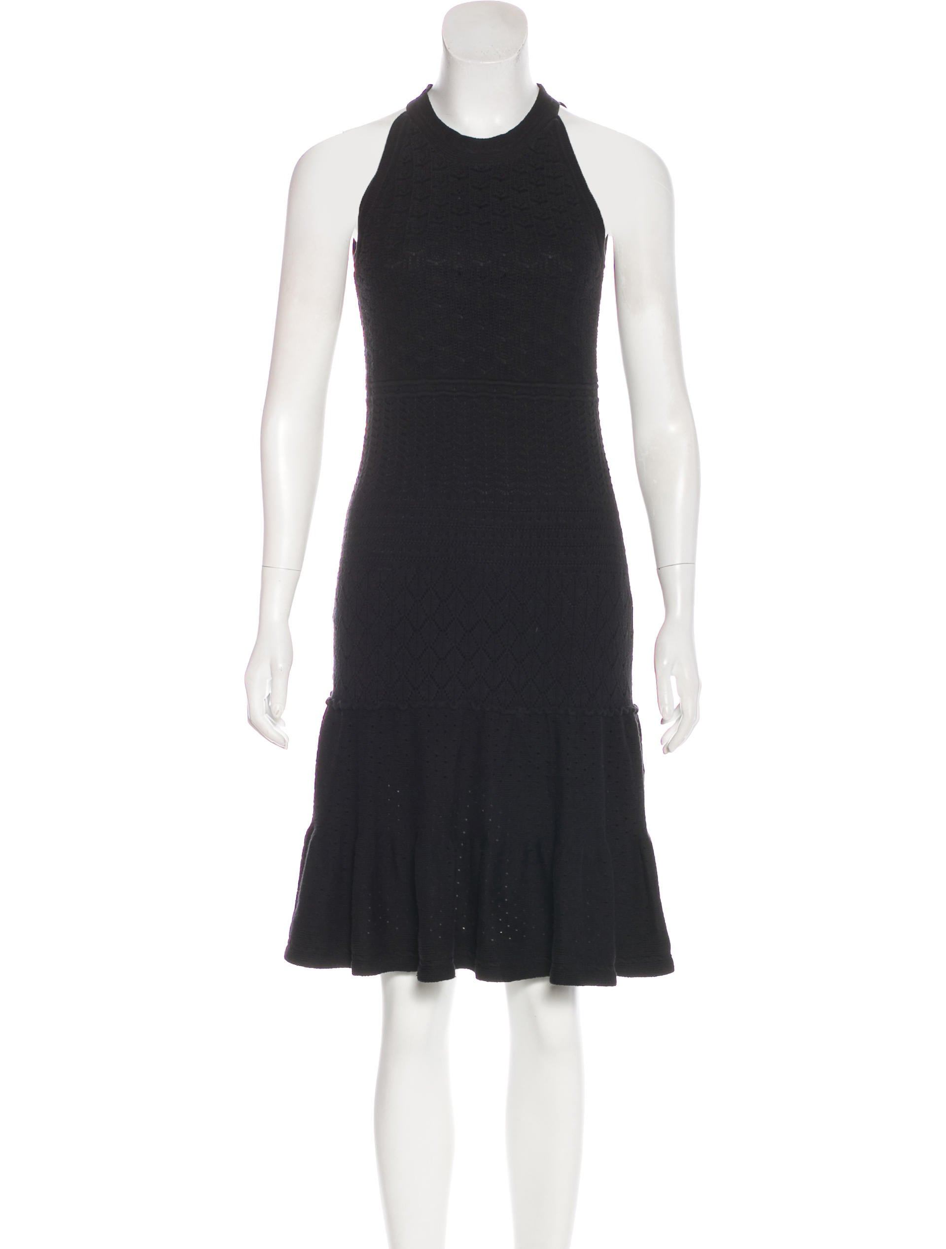 Ohne Titel Knit Midi-Length Dress Excellent XywG23Pptq