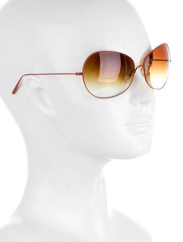 Red Gradient Lens Sunglasses