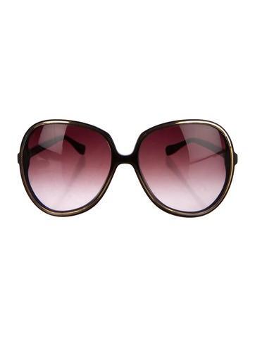 Oversize Gradient Sunglasses