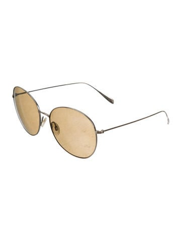 Blondell Circular Sunglasses