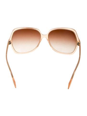 Oversize Gradient Lens Sunglasses