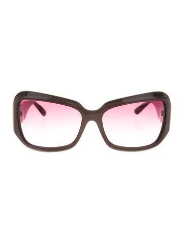 Oversize Tinted Sunglasses