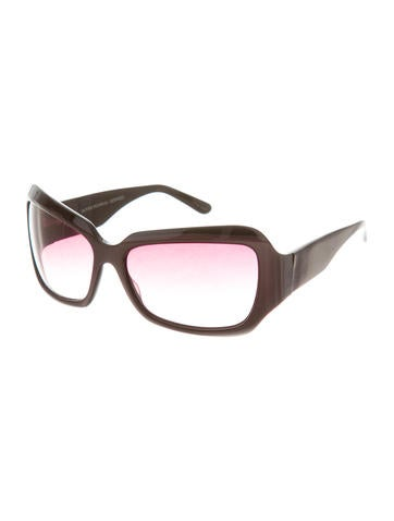 Oversize Tinted Sunglasses