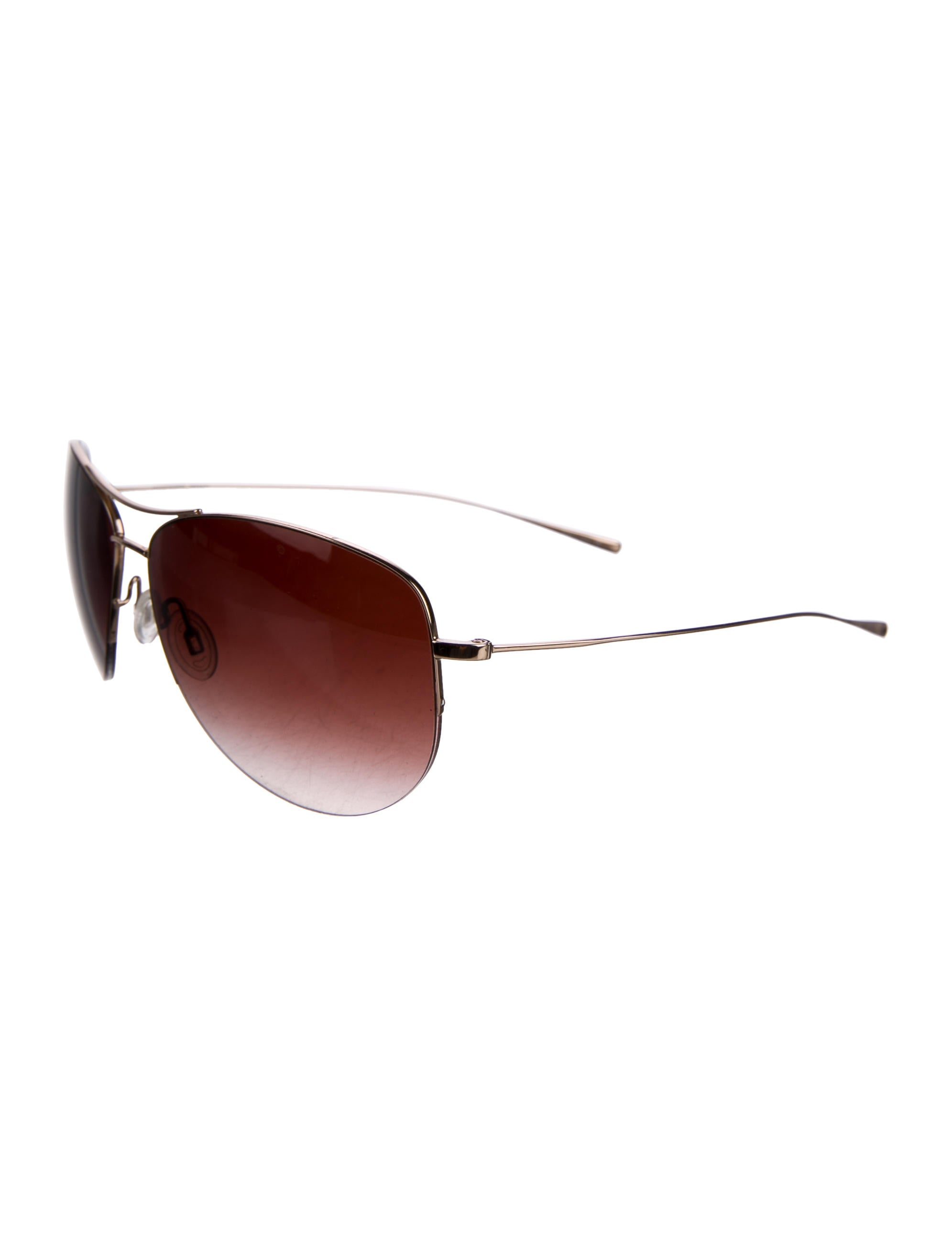 5216594d94 Oliver Peoples Strummer Aviator Sunglasses - Accessories - WOP24297 ...