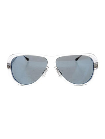 Oliver Peoples Manzanita Mirrored Sunglasses None