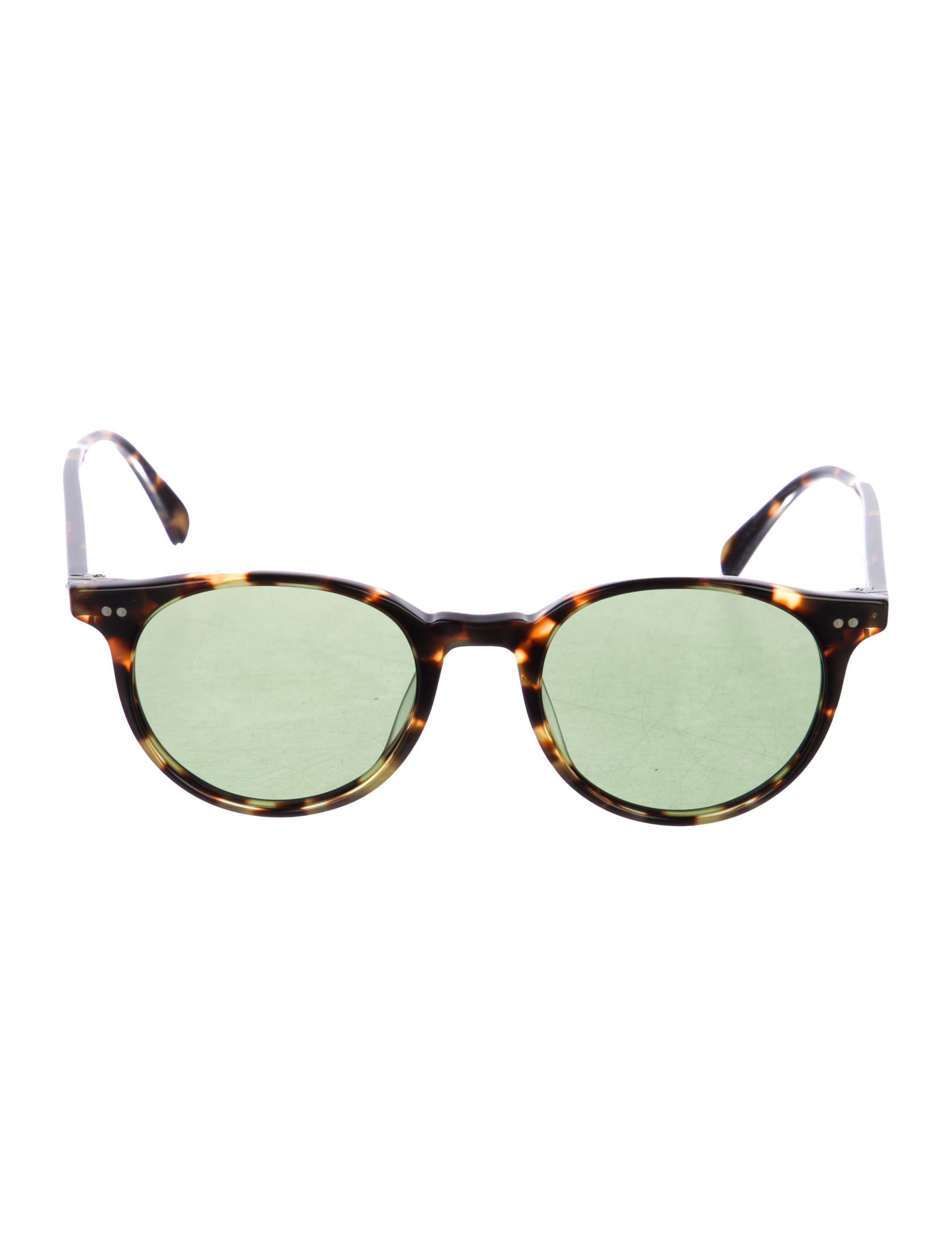 950c6c43ba846 Oliver Peoples Delray Sun Tortoiseshell Sunglasses - Accessories ...