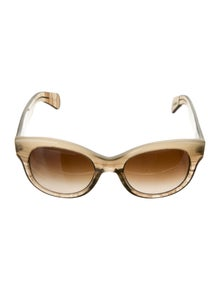 Oliver Peoples Round Tinted Sunglasses