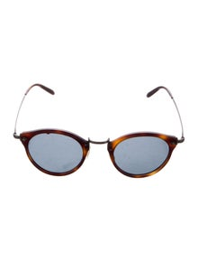 Oliver Peoples Tortoiseshell Tinted Sunglasses