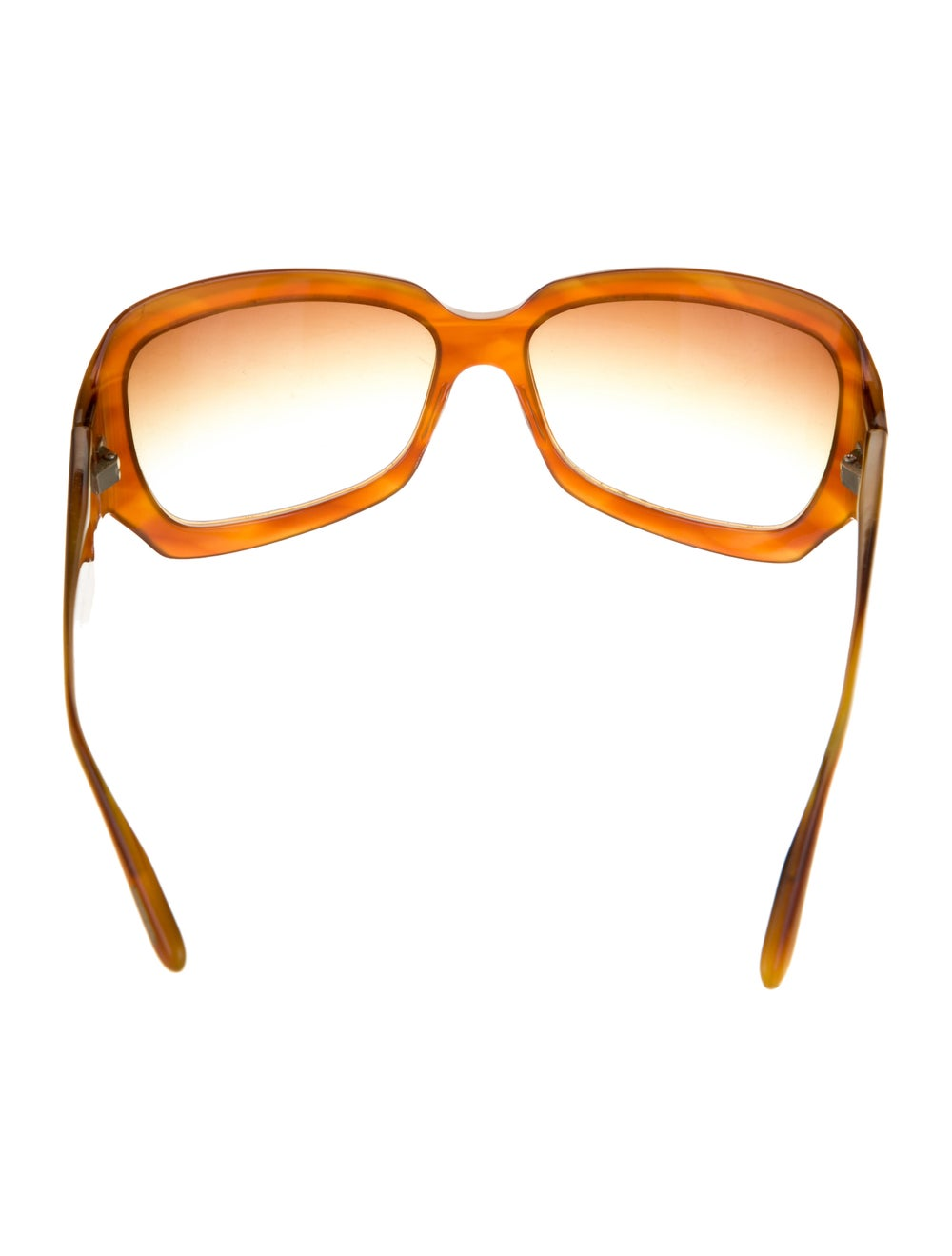 Oliver Peoples Athena Acetate Sunglasses Brown - image 3