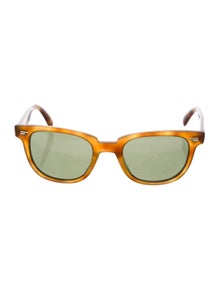 Oliver Peoples Acetate Wayfarer Sunglasses