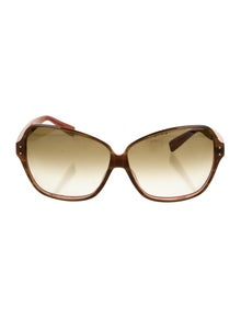 Oliver Peoples Square Gradient Sunglasses