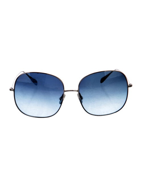 Oliver Peoples Daisy Gradient Sunglasses Silver
