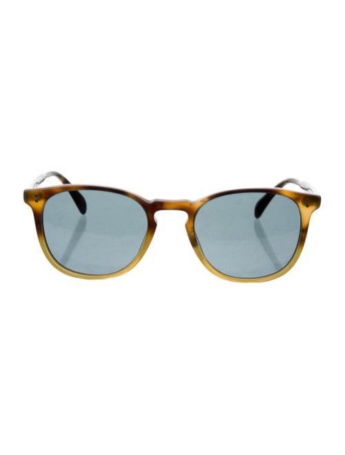 Oliver Peoples Round Tortoiseshell Sunglasses brow