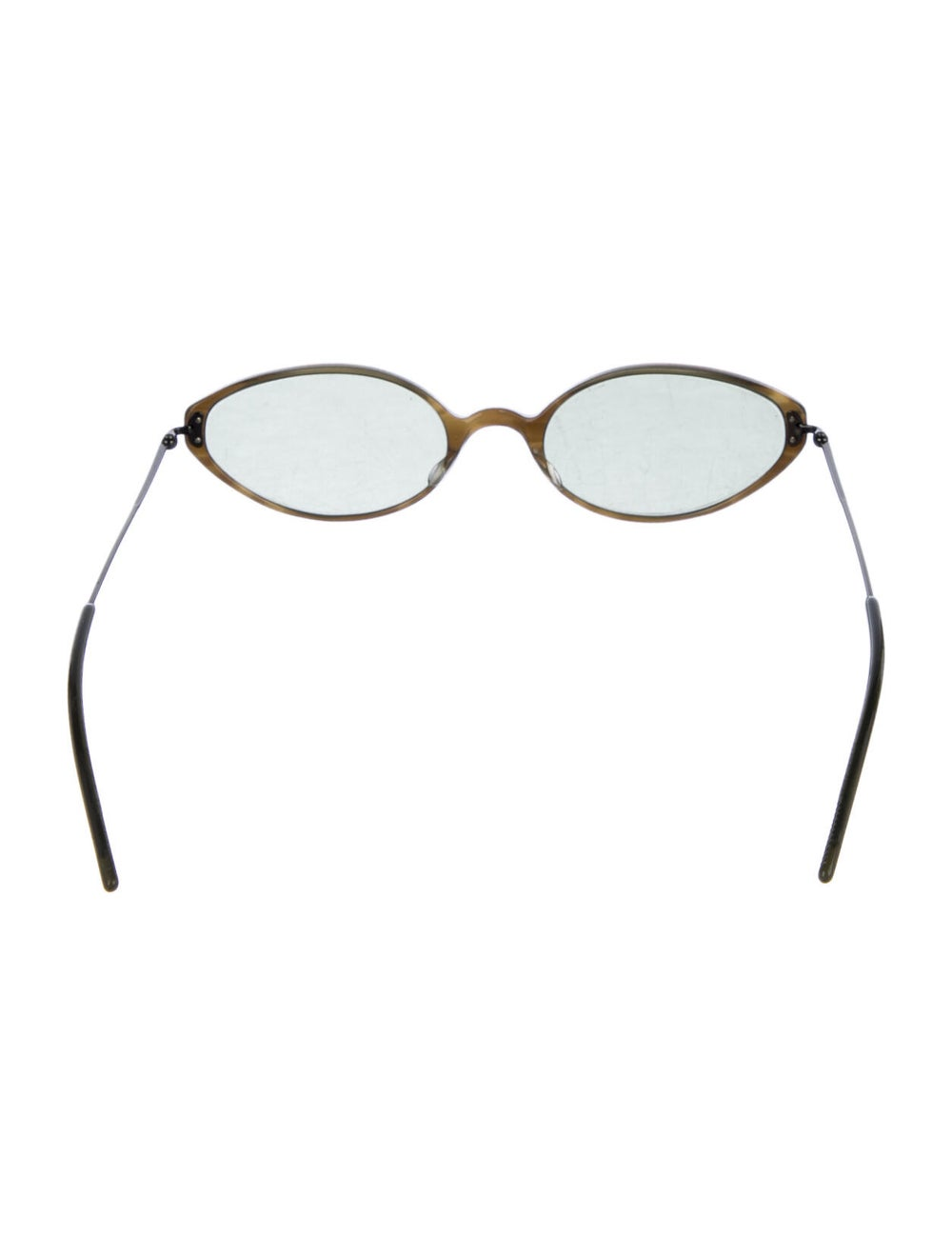 Oliver Peoples Cat-Eye Tinted Sunglasses Green - image 3
