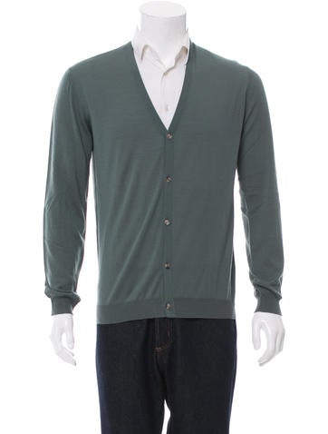 Orley Wool V-Neck Cardigan w/ Tags None