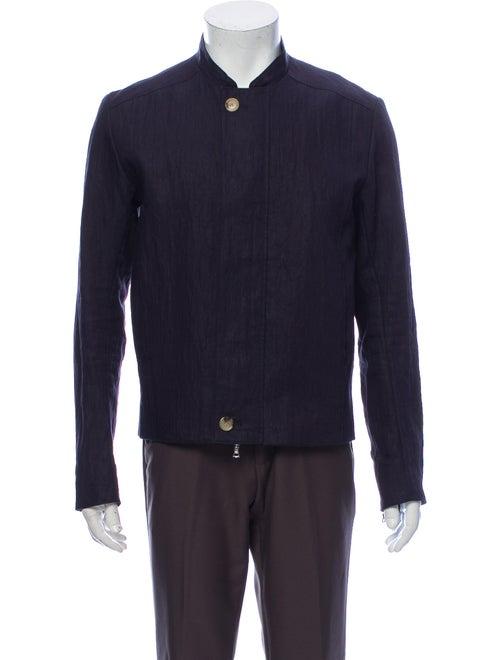 Orley Linen Jacket Blue