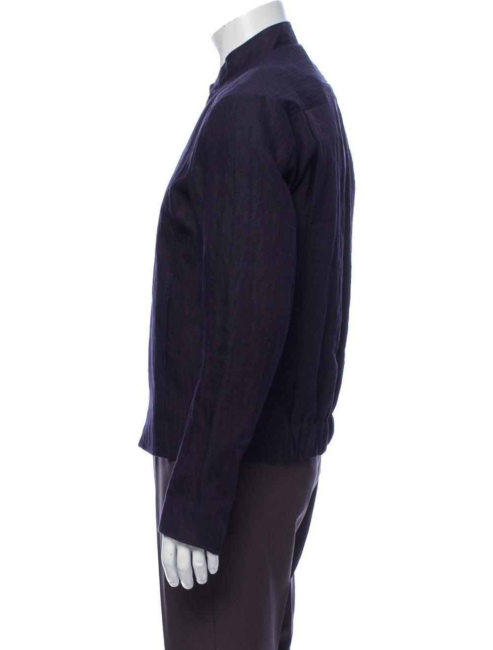 Orley Linen Jacket Blue - image 2