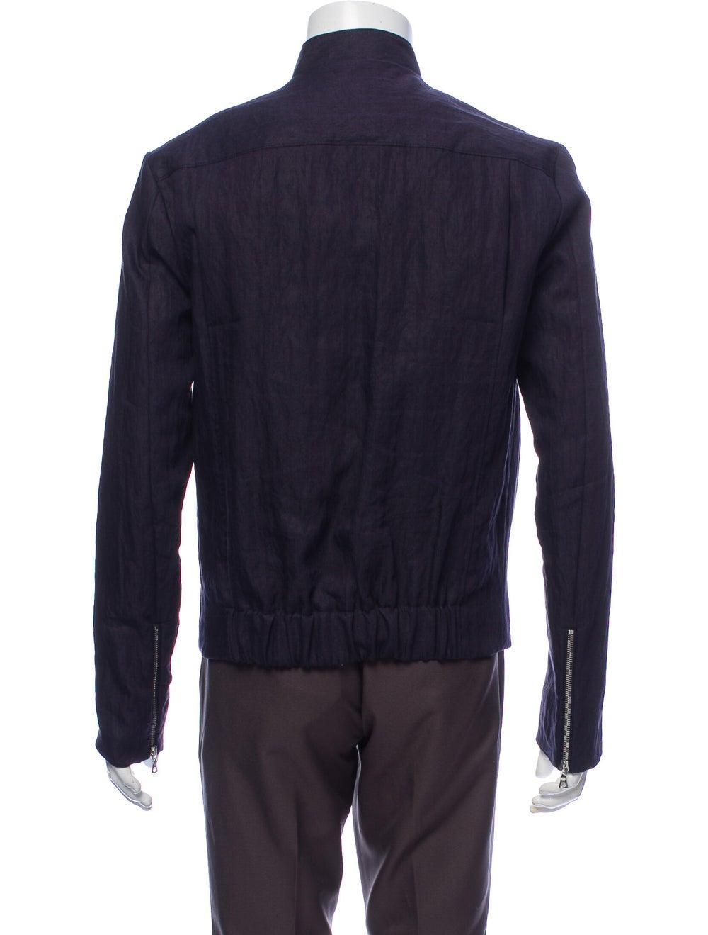 Orley Linen Jacket Blue - image 3
