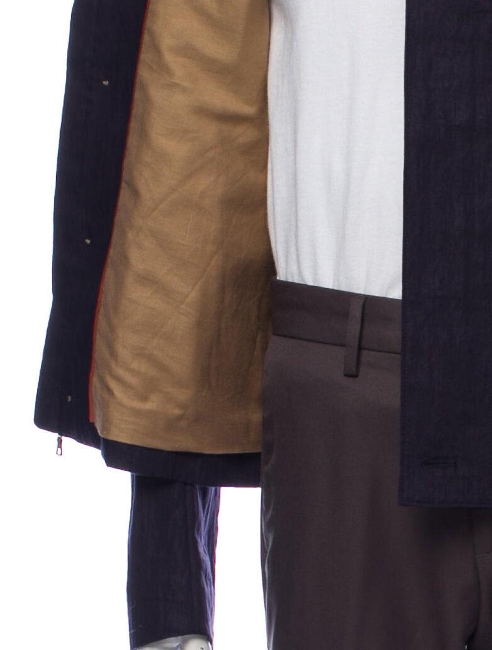 Orley Linen Jacket Blue - image 4