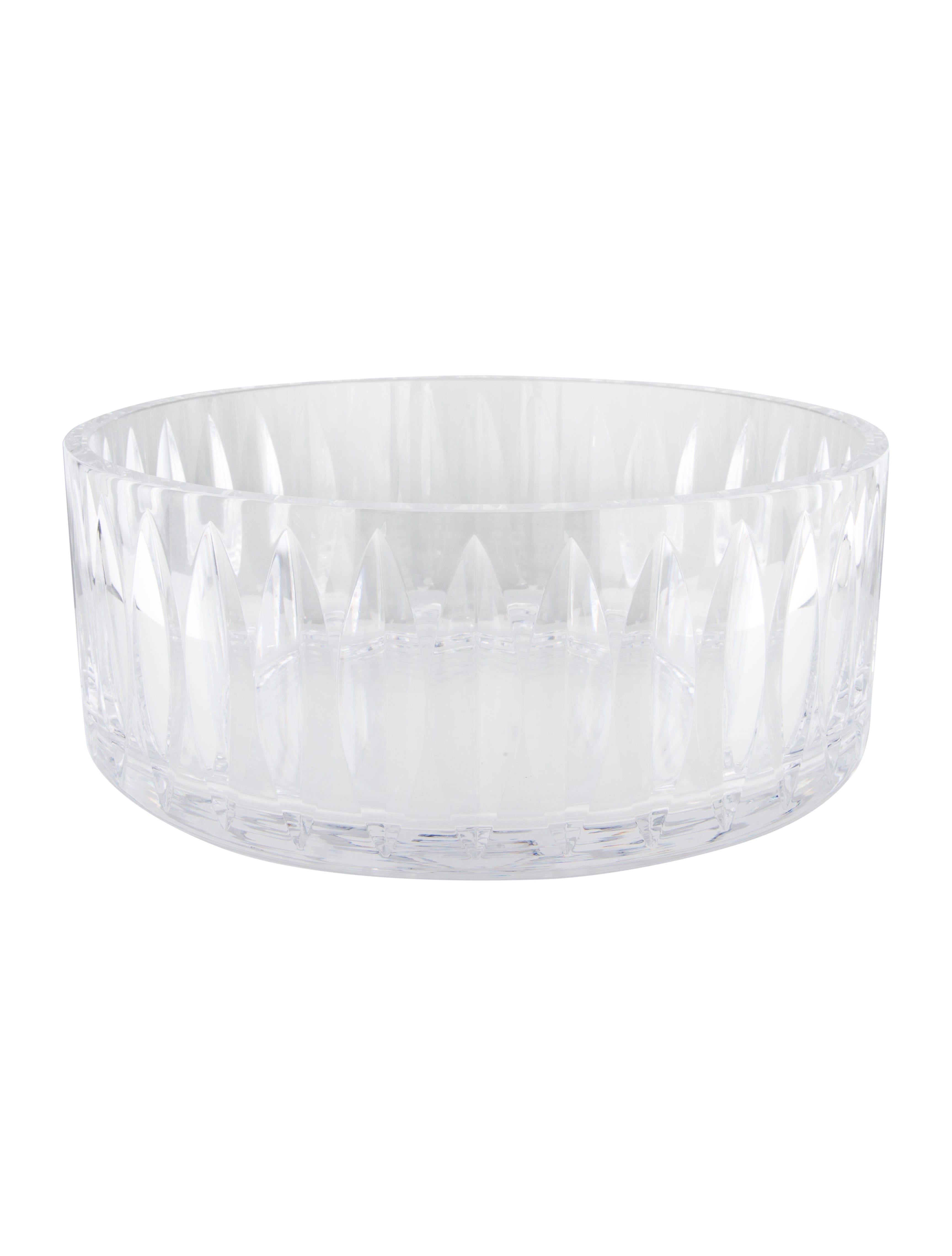 Orrefors crystal eye centerpiece bowl tabletop and kitchen worrf20171 the realreal - Kitchen table centerpiece bowls ...