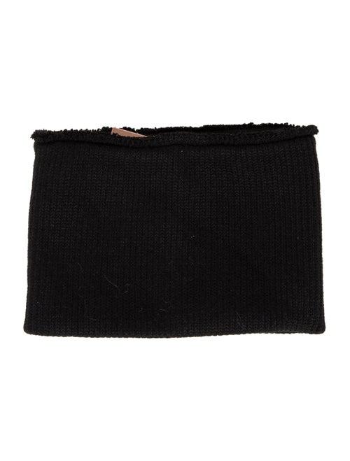 Orseund Iris Chunky Knit Tube Scarf w/ Tags Black