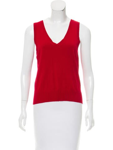 Oscar by Oscar de la Renta Sleeveless Knit Top None