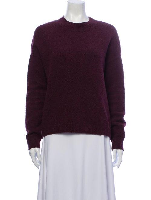 & Other Stories Crew Neck Sweater Purple