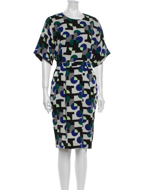 & Other Stories Printed Knee-Length Dress w/ Tags