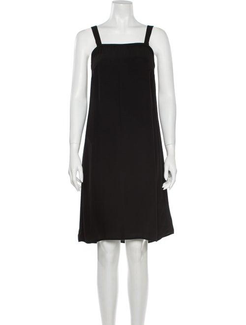 & Other Stories Square Neckline Knee-Length Dress