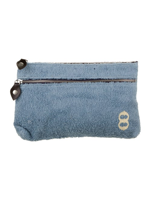 Ottod'Ame Terry Cloth Clutch w/ Tags Blue