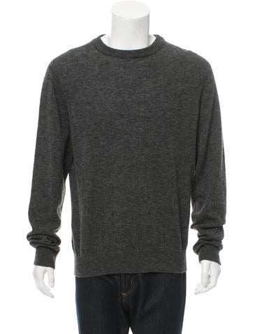 Our Legacy Merino Wool-Blend Crew Neck Sweater None