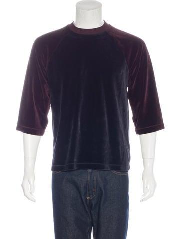 Our Legacy Velvet Raglan T-Shirt None