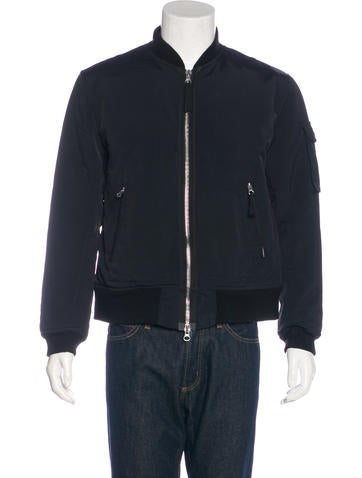Our Legacy Black Shimmer Bomber Jacket None