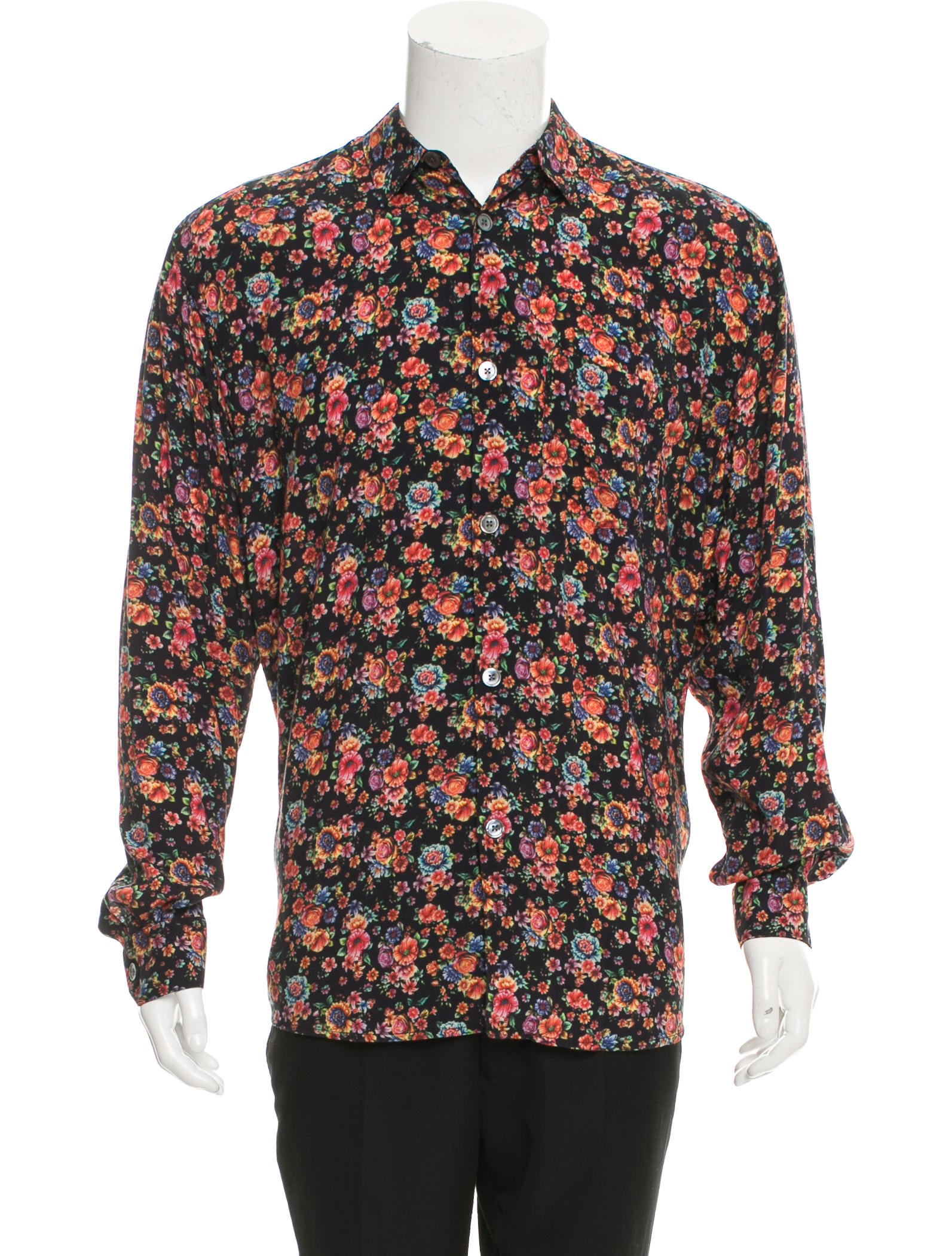 Our legacy floral print button up shirt w tags clothing for Floral print button up shirt