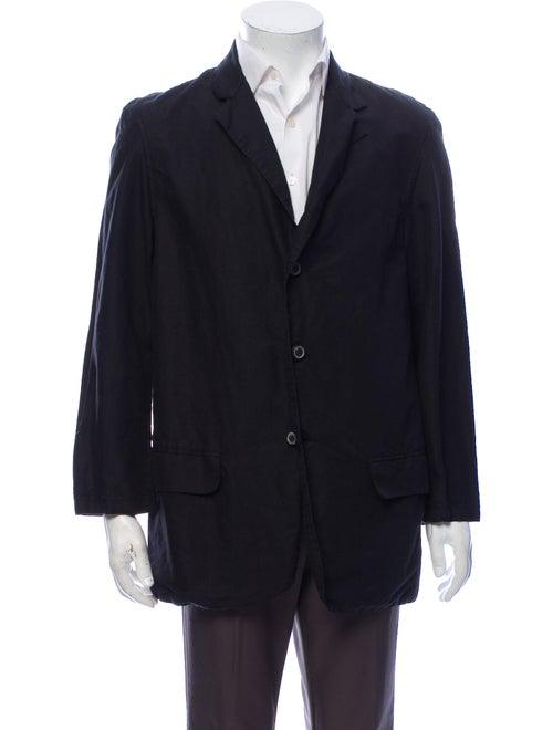 Our Legacy Linen Blazer Black