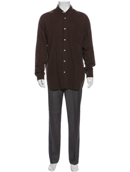Our Legacy Long Sleeve Shirt Brown