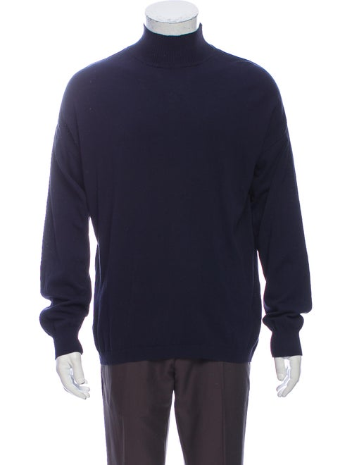 Our Legacy Turtleneck Long Sleeve Pullover Blue