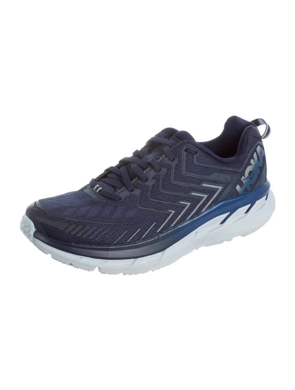 Outdoor Voices Graphic Print Athletic Sneakers Bl… - image 2