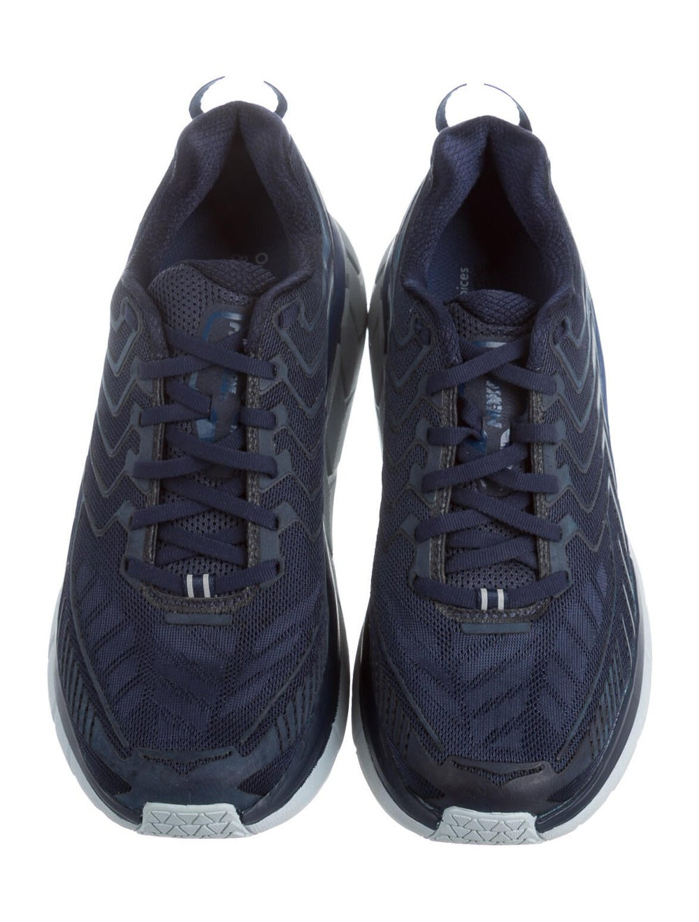 Outdoor Voices Graphic Print Athletic Sneakers Bl… - image 3