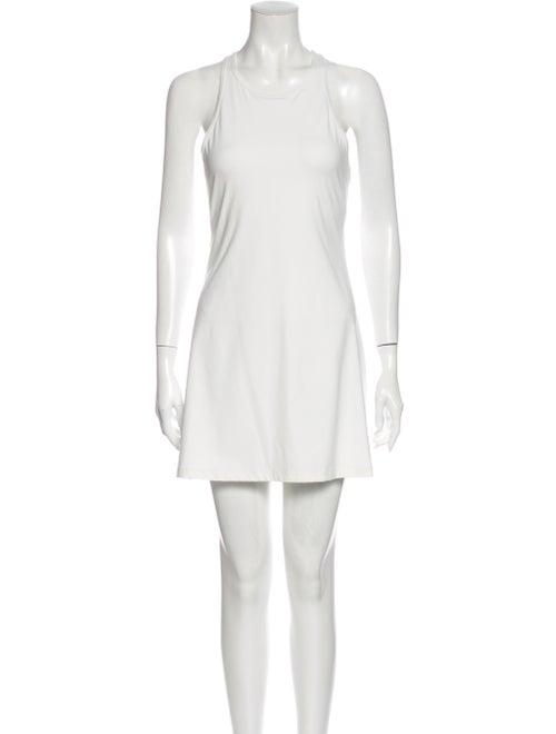 Outdoor Voices Scoop Neck Mini Dress White